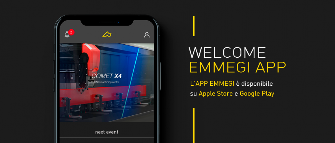 Welcome Emmegi App