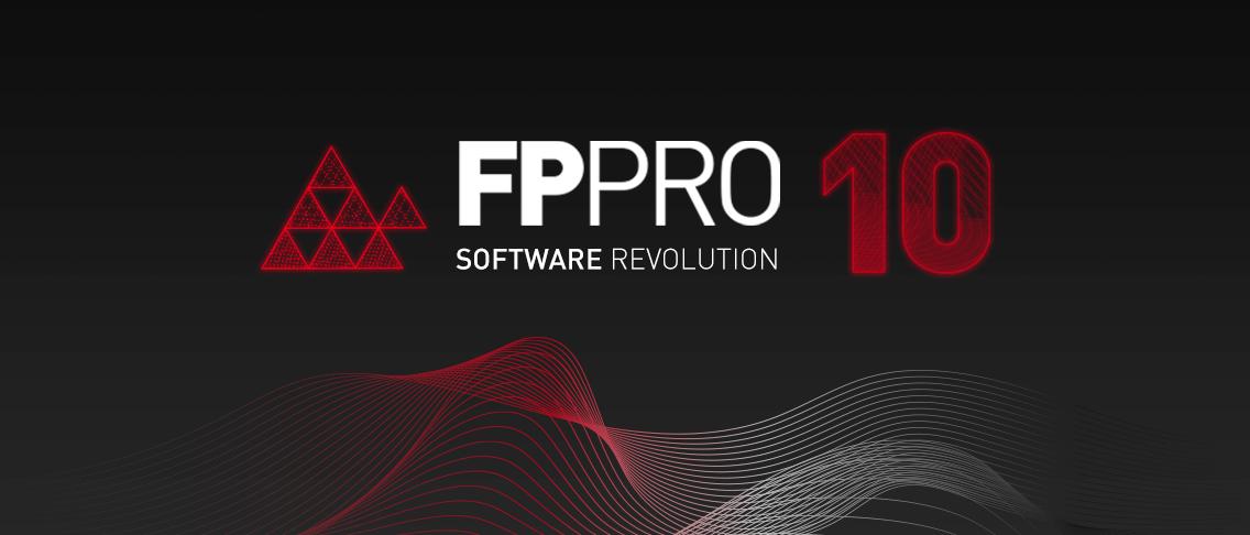 Novo FP PRO 10: A revolução do software