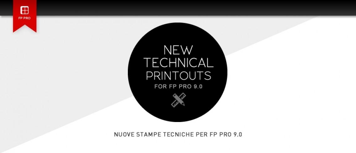 Nuove Stampe Tecniche per FP PRO 9.0