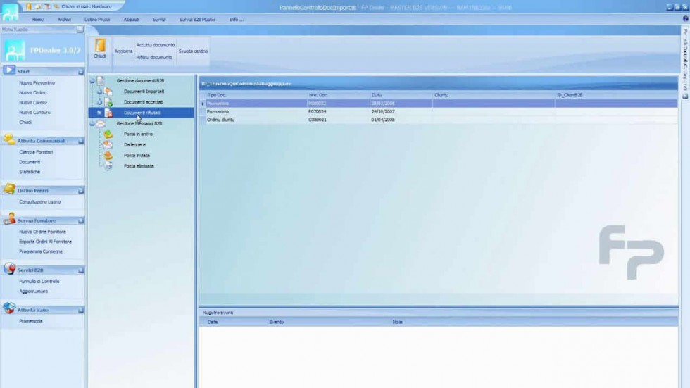 FP DEALER - Management of the sales network over the internet Emmegisoft