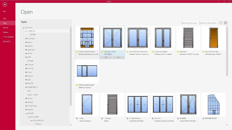 FP PRO - Technical design features Emmegisoft